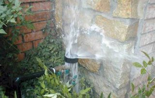 Broken Water Hose