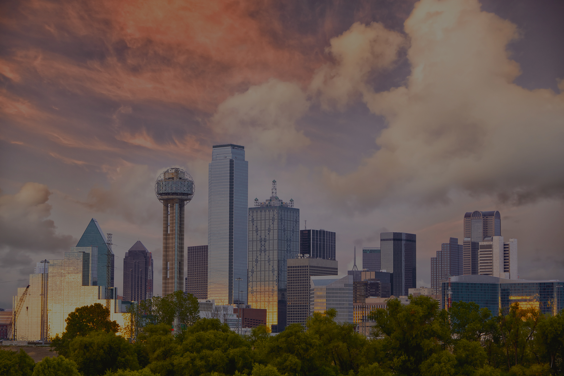 Dallas Texas Buildings & Skyline