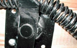 Hardware missing fasteners